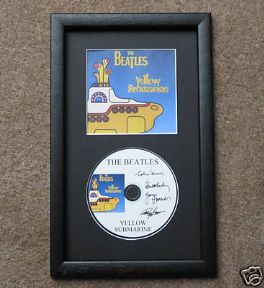 THE BEATLES - YELLOW SUBMARINE CD Disc MEMORABILIA presentation